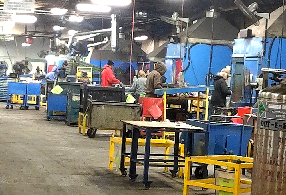 A view inside the OEM Company shop.
