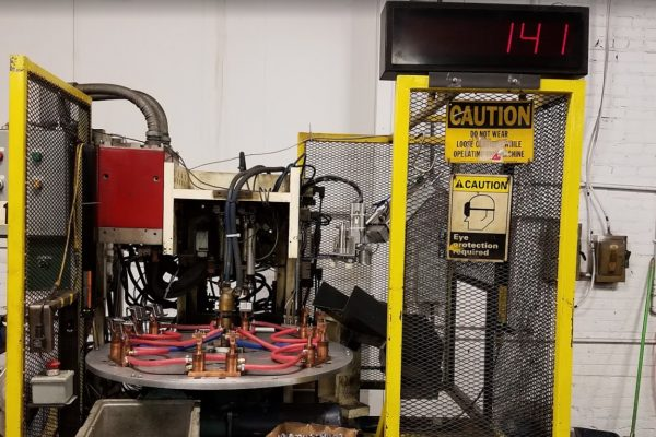 All sensored custom tooled index machine capable of high volume.
